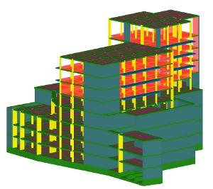 X3: Immagini del modello strutturale